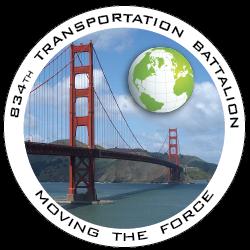 834th Transportation Battalion